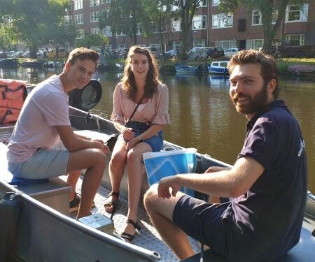 Amsterdam bootje huren